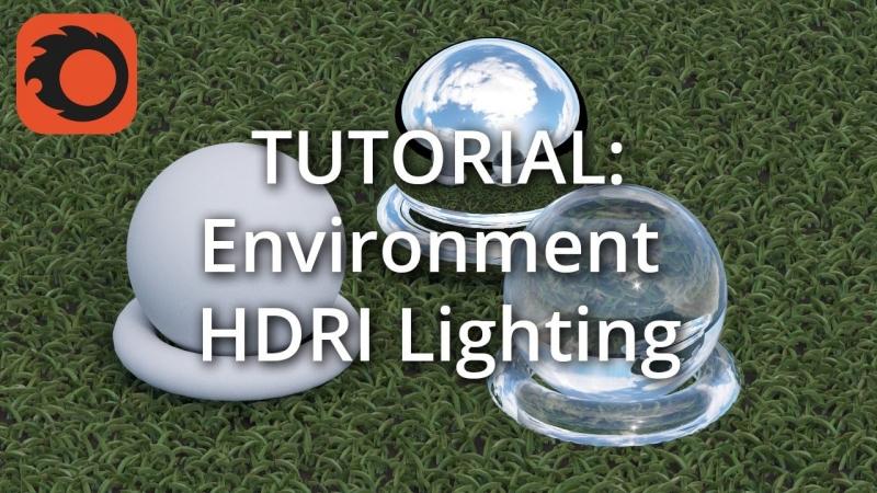 Настройка света в Corona методом HDRI