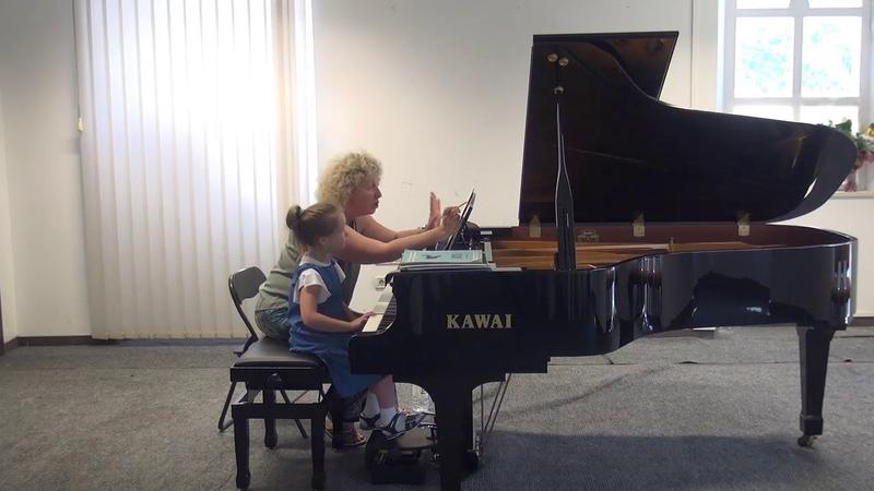 06.07.2018 Mira Marchenko's master-classes. Masha Belokopytova. Concert Hall, Trogir, Croatia