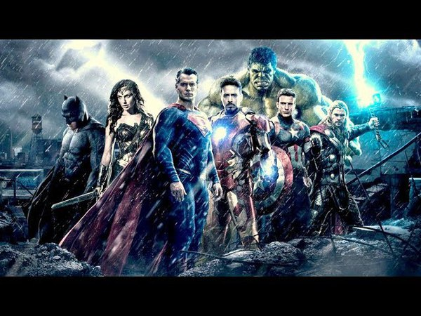 Soundtrack Marvel and DC (Best Of Epic Music - Theme Song) - Musique film Marvel vs DC