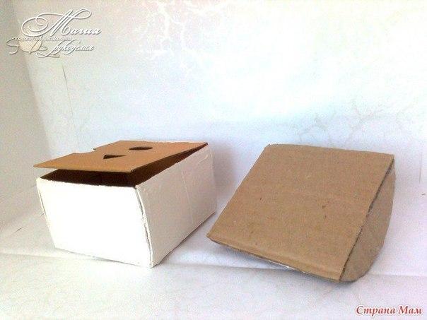 Шкатулки сундучки из картона своими руками 21