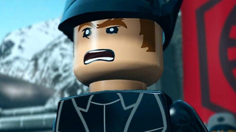 LEGO Star Wars The Force Awakens GENERAL HUX'S SPEECH Cutscene Movie Cinematic