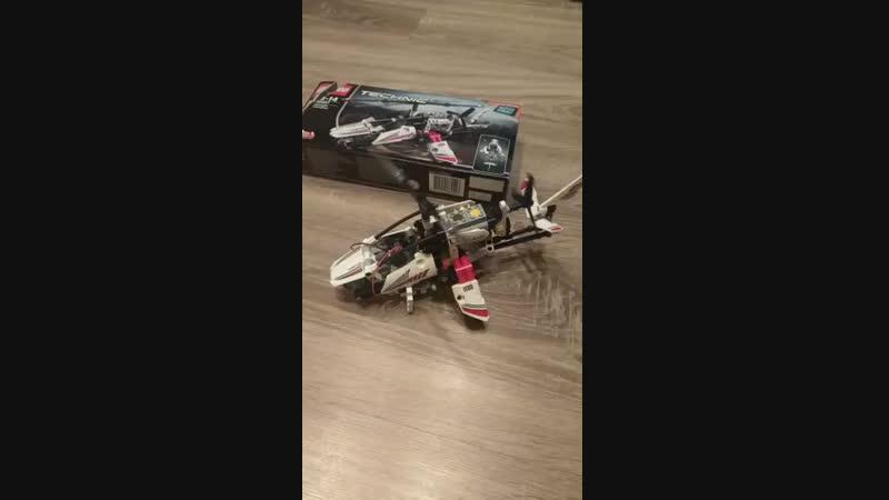 Оживший вертолет Lego