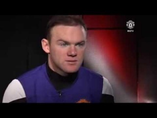 Wayne Rooney's interview after receiving the Manchester United POM award for December.