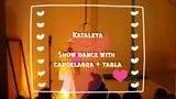 Show dance with candelabra and tabla Kataleya St. Petersburg