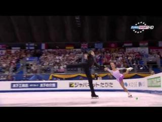 Фигурное катание / ЧМ-2014 / Пары / Короткая программа / Eurosport