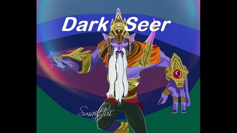 Dark Seer Dota2 в Painte