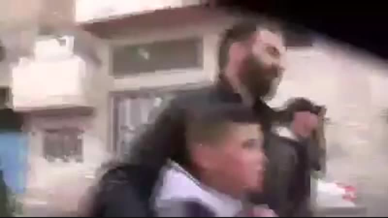 Right after he left school the Palestinian child Mohammed Fares Alrajabi was terrorized and kidnapped by Zionist soldiers