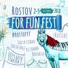 Rostov For Fun Fest | 2-5 ноября 2018