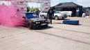 Audi 100 C4 2.2t Quattro vs BMW 325E E30 1/8mile drag race