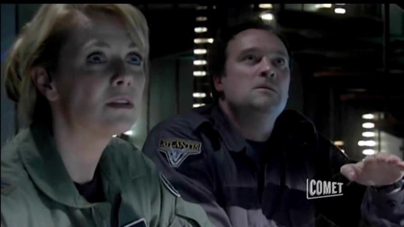 Stargate Atlantis - Atlantis Landing On A New Planet