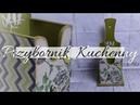 120 DECOUPAGE KITCHEN TOOLBOX / DECOUPAGE PRZYBORNIK KUCHENNY / DECOUPAGE KUCHNIA / TUTORIAL / DIY