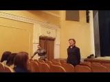 Открытая репетиция спектакля Мёртвые души. Гоголь