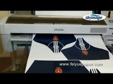 100gsm Tacky Sublimation Paper Test Printing by Epson Surecolor F6070 Printer
