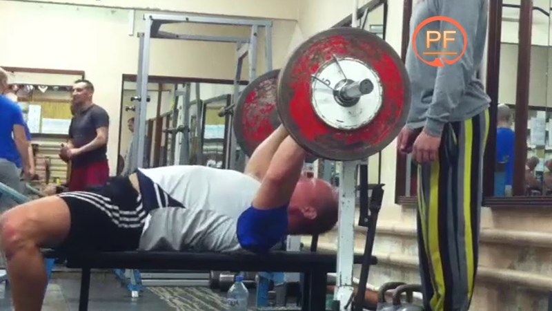 Жим лежа 160 кг на 6 повторений 👊
