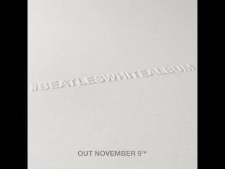 The beatles' white album coming november 9