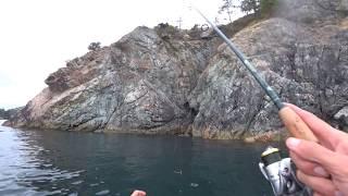 Морская Рыбалка на Каяке часть3 Охота на Терпуга
