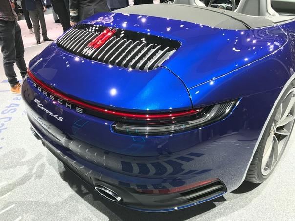 Porsche показала красивую (но «тяжёлую») новинку.