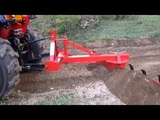 Apollo 45 hp tractor with Agmax 6'ft grader blade and rippers.