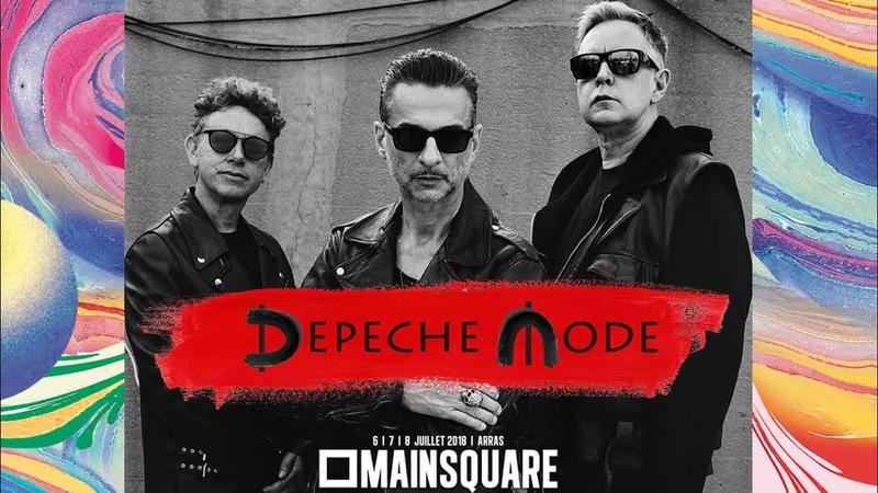 Depeche Mode - Going Backwards - Main Square Festival Arras 2018