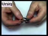 14839 USB Флешка Uniq СЕРДЦЕ Лебединая Нежность