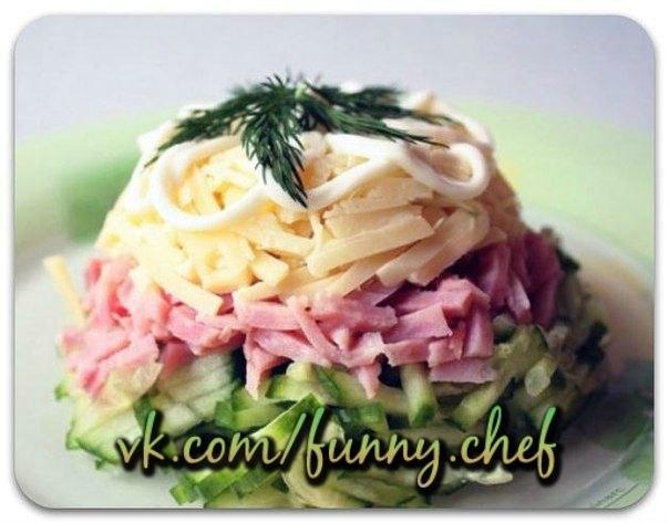 Легкий быстрый вкусные салаты