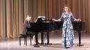 Анастасия Шишкина Финал камерного отделения XI Международного конкурса молодых оперных певцов