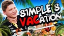 How s1mple's Pre-Major VACation went