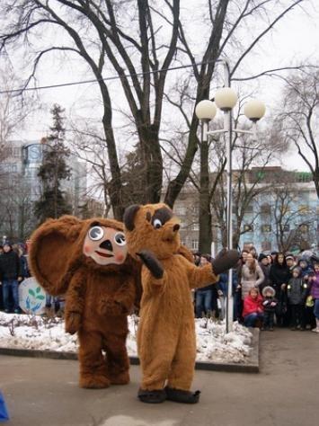 В Ростове запустили часы, отсчитывающие время до Олимпиады в Сочи! ФОТО-ВИДЕО