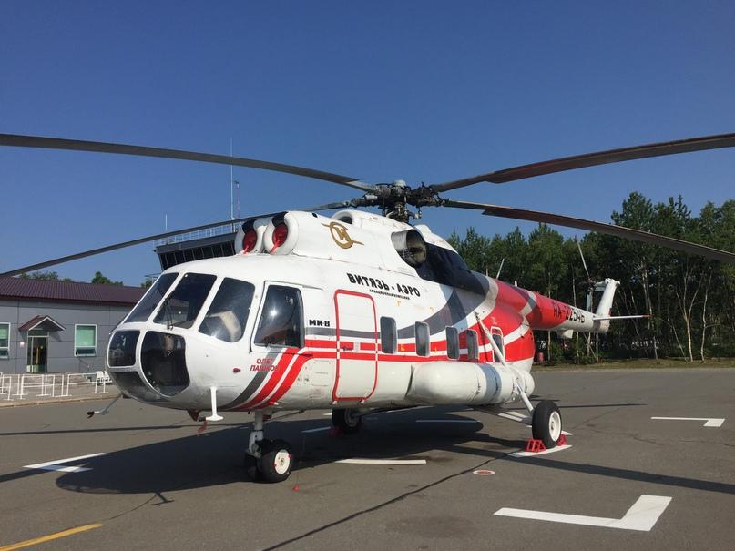 Вертолетная экскурсия. Ми-8