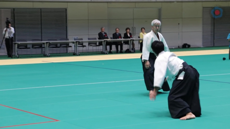 Aikido Demonstration - Doshu Moriteru Ueshiba - 12th IAF Congress (2016) _Aikikai_ ( 1080 X 1920 ).mp4