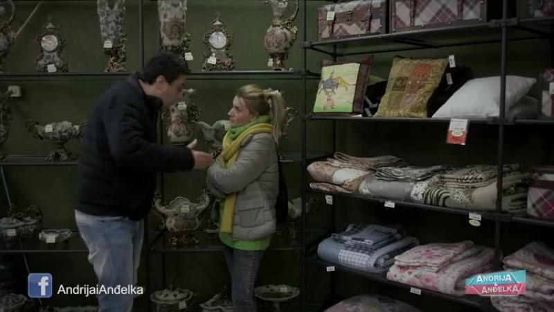 Andrija i Andjelka - Poklon za taštu 😂😂😂