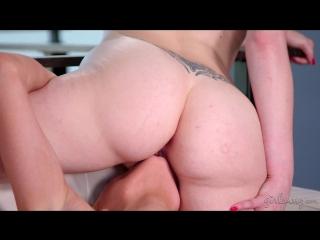 Charlotte stokely, elsa jean - lady boss: lesbian interview [masturbation, natural tits, pussy licking, lesbian, 1080p]