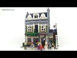 LEGO Creator Parisian Restaurant 10243 modular building Review!