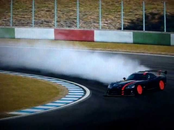 Gran Turismo 5 Dodge Viper SRT10 ACR '08 Drifting