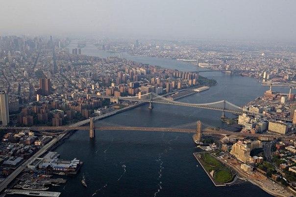 Нью-Йорк с высоты. Манхэттен