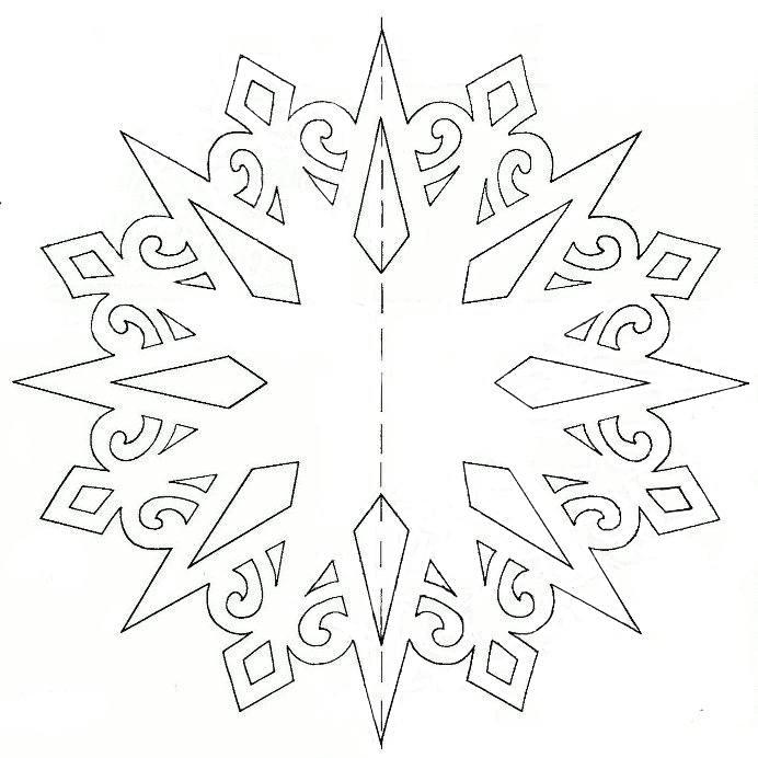 Снежинки из бумаги своими руками объемные картинки