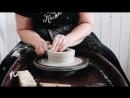 Миска из шамотной глины