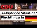"""CDU Clown """"entspannte Situation Flüchtlinge Asyl AfD widerspricht"""