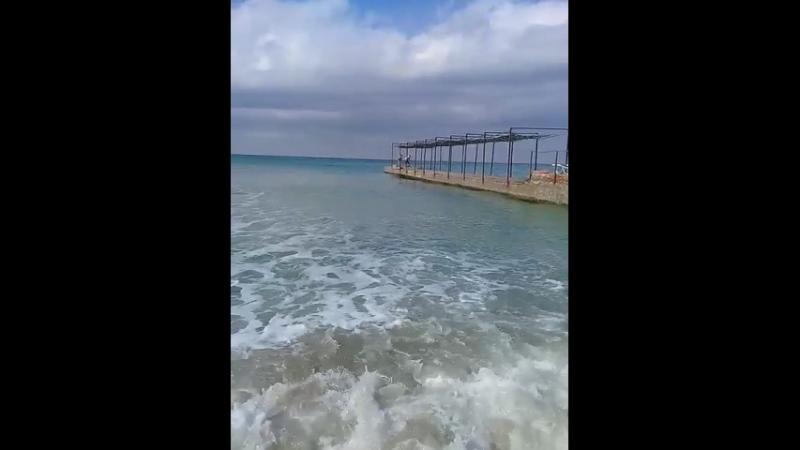 дивноморское теплое сентябрьское море
