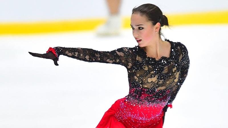 Alina Zagitova Free GP Helsinki NO COMMENTS 2018 11 3