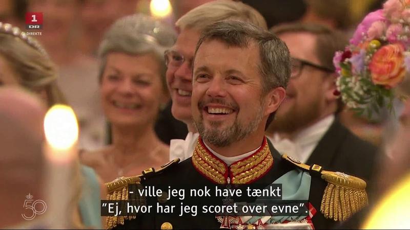 Kronprinsesse Marys tale til 'sin mand' Kronprins Frederik