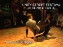 UNITY STREET FESTIVAL 26 04 2014 TARTU Zulinski Aleksei i Dasha