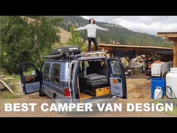 My Student Has The Sickest Custom Camper Van I Have Ever Seen! | Coachmen Econoline 150 Custom Build | DYI