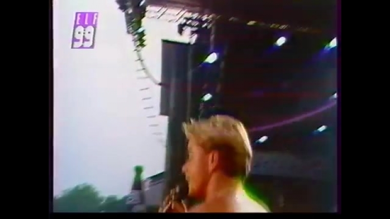 Den Harrow Dont break my heart Catch the fox Leipzig Open Air 1990 East Germany