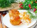 Тефтели с грибами в сливочно-томатном соусе