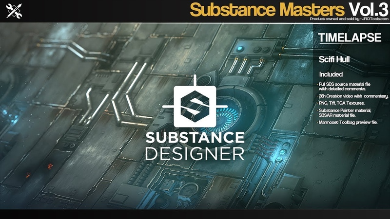 Substance Masters - Scifi Hull time-lapse