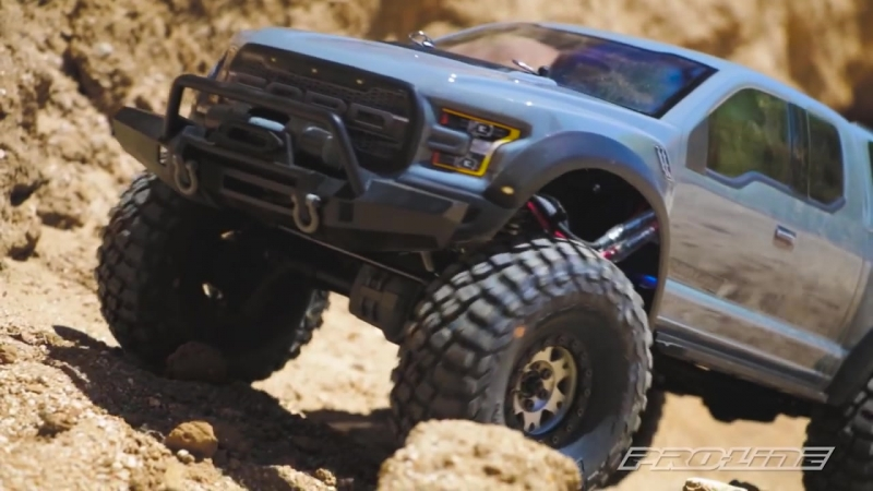 Pro-Line 2017 Ford F-150 Raptor for TRX-4 Clear Body