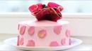 Декор для торта карамельный всплеск цветок ваза Caramel decoration