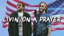 LIVING ON A PRAYER - Bon Jovi - (METAL cover by Jonathan Young Caleb Hyles)