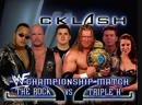 The Rock Vs Triple H - WWF Championship - Shane McMahon As Guest Referee - Backlash 2000